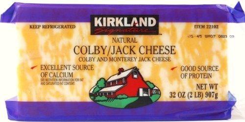 KIRKLAND コルビージャックチーズ 907g Colby/jack Cheese 要冷蔵