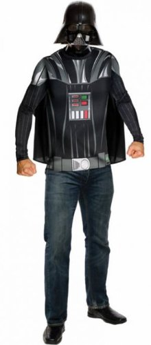 Darth Vader Top Cape Mask Adul