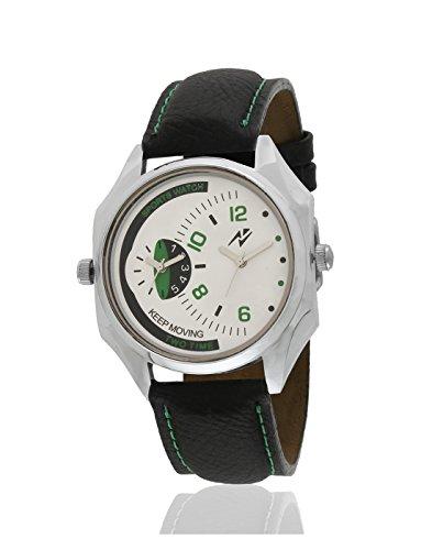 Yepme Men's Dual Movement Watch – White/Black_YPMWATCH2826