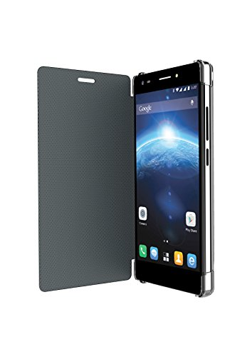 Lava Flip Cover for Iris X5 4G (Black)