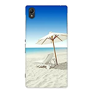 Cute Vaccation Multicolor Back Case Cover for Sony Xperia Z1