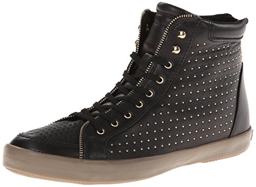Rebecca Minkoff Women's Seta Fashion Sneaker,Black,10 M US