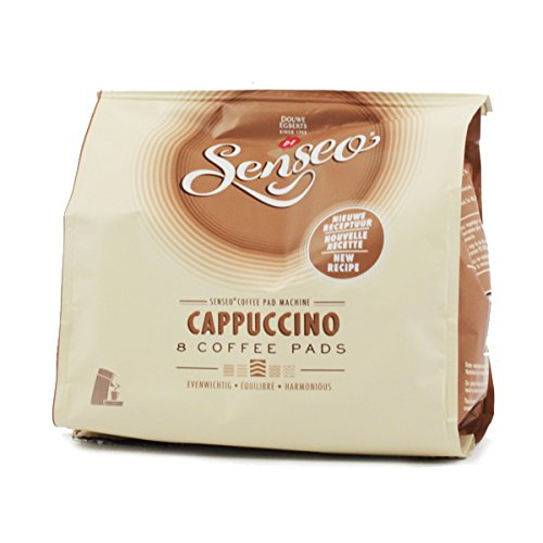 Order Senseo Coffee Pads Cappuccino, Milk Foam Classic, Coffee, New Recipe, 10 Pack, 10 x 8 Pods by Douwe Egberts