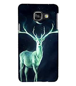PRINTSHOPPII DEER Back Case Cover for Samsung Galaxy A3 (2016) Duos