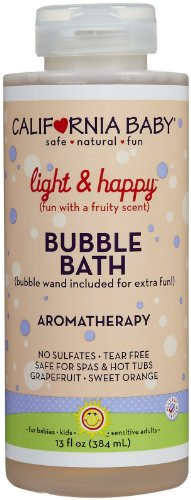 California Baby Bubble Bath - Light & Happy - 13 oz - 1