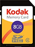 Kodak SDHC 8 GB Class 2 Flash Memory Card KSD8GBPSBNA