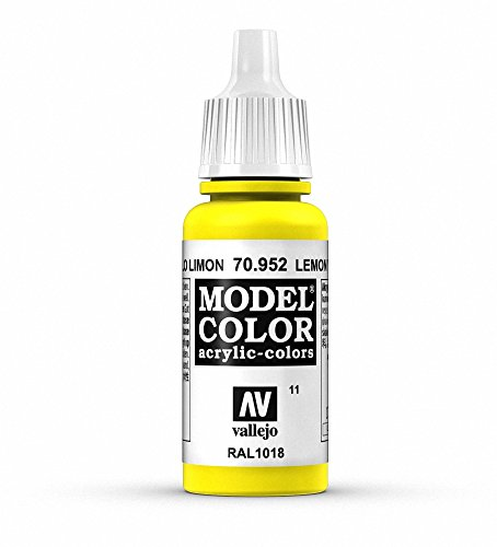 Vallejo Acrylic Paint, Lemon Yellow