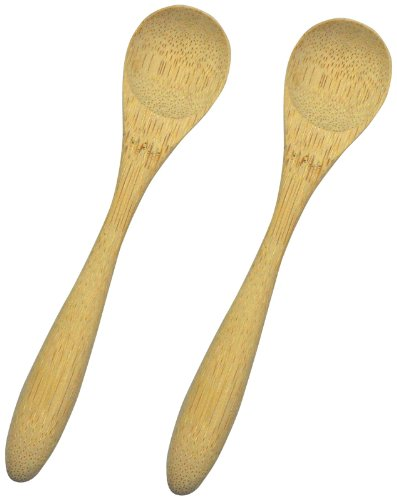 green sprouts Bamboo Spoon, Natural, 2 Count