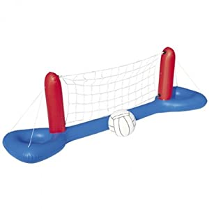 Gonflable avec Ballon Filet pour Piscine: Sports et Loisirs