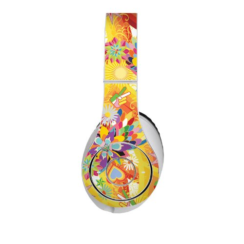 Wall Flower Design Protective Decal Skin Sticker (High Gloss Coating) For Beats Studio Headphone (Headsets Not Included)