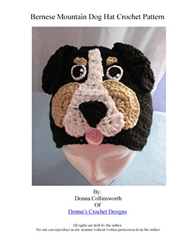 Berenese Mountain Dog Hat Crochet Pattern