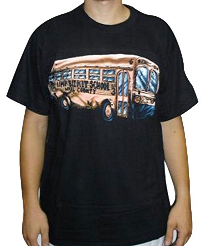 Maglietta Limp Bizkit-Scuola Bus Black XL