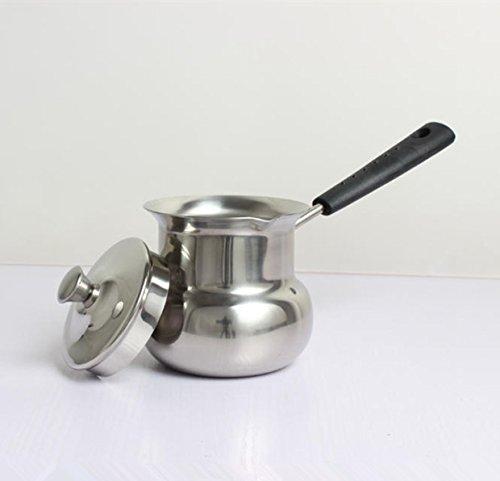 Cuisine épais Pan Pan isolé le lait poignées inox plusieurs tailles au choix vous pouvez utiliser le Mini pot-226