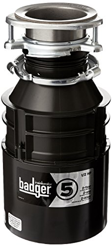 badger 5 garbage disposal with power cord 12 hp - Badger 5