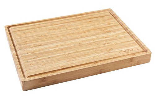 Best Large Bamboo Cutting Board / Serving Tray (17