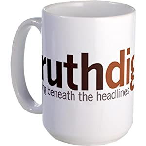 Truthdig Large Mug from CafePress