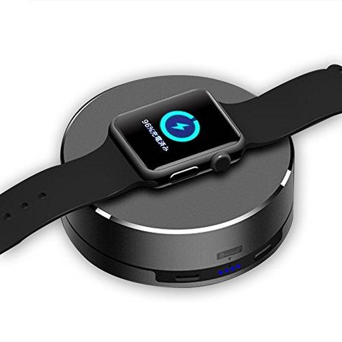 iitrust Apple Watch 充電スタンド デスクトップ 1500mAh アルミニウム製 Apple Watch 充電ケーブル収納可能 ポータブル apple watch チャージャー アップルウォッチ 充電スタンド 日本語取扱説明書/スベーサー付き iitrust正規代理品