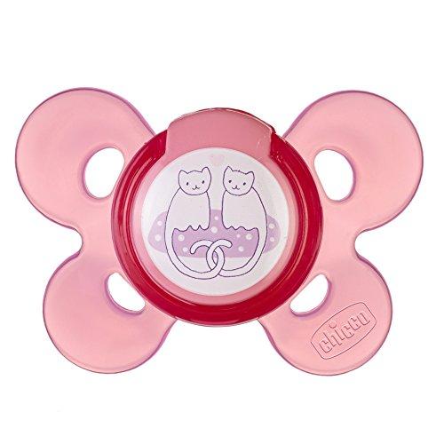 Chicco 72803110000 Physio Comfort Succhietto Cau 4m+, 1 pezzo, Rosa