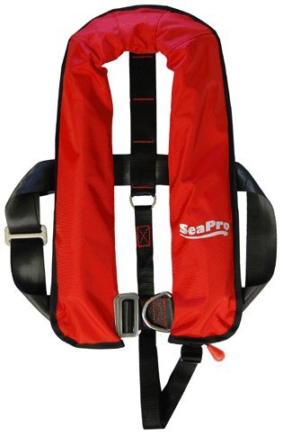 Seapro 150N Adult Red Harness Automatic Lifejacket