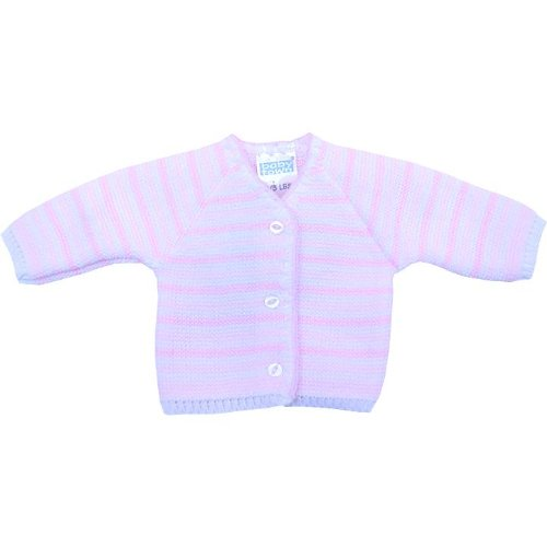 Premature Early Baby Clothes Striped Cardigan