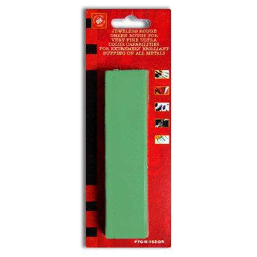 6 Oz Usa Green Rouge Polishing Buffing Compound - Steel, Aluminum, Chrome