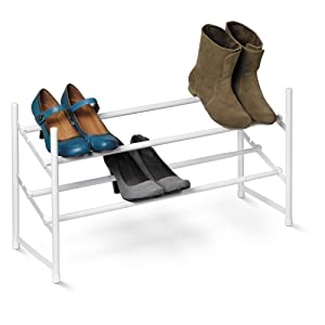 Click Here For exelent Size Honey-Can-Do 2-Tier Expandable Shoe Rack