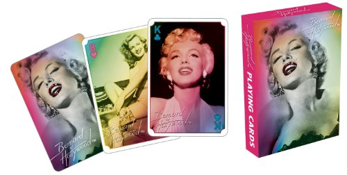 Marilyn Monroe Glamour Playing Cards