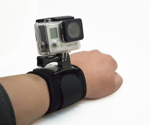 ProGear Adjustable Heavy Duty Wrist Mount Kit For GoPro Hero 4/3+/3/2/1