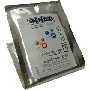 Tenax Glaxs BM 75 glue for marble - 100 Gram Pouch (Slow Curing Epoxy compare prices)