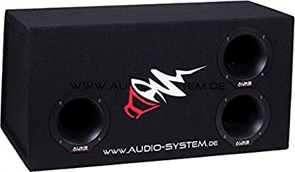"AudioSystem BP 12 Bandpass-Leergeh""use"