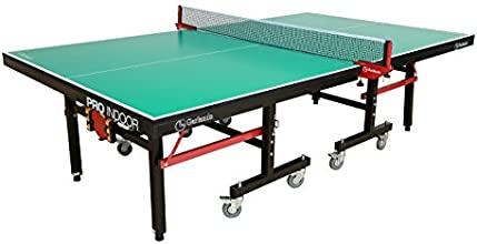 Garlando Pro Indoor Ping Pong Table 25mm Top50mm Leg Green