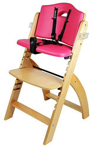 abiie beyond wooden high chair with tray the perfect adjustable baby highchair solution for. Black Bedroom Furniture Sets. Home Design Ideas