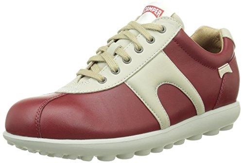 CamperSupersoft Happiness,Pau/Mistol Pau - Scarpe da Ginnastica Basse donna , Rosso (Red (Medium Red)), 38