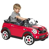 Memorable 6V Mini Cooper S Red Car - Cleva Edition 3DAlarmD Bundle