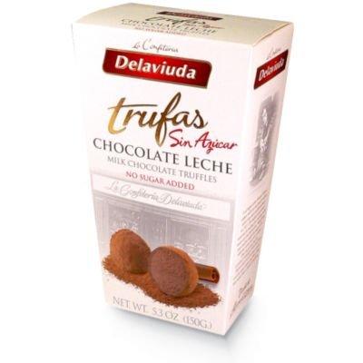 Dela Viuda - Sugar Free Milk Chocolate Truffles (Gourmet,Delaviuda,Gourmet Food,Candy)