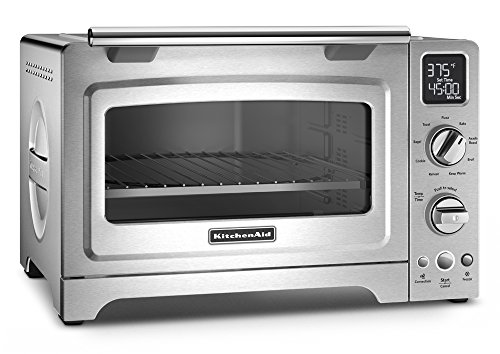 KitchenAid KCO275SS Convection 1800-watt Digital Countertop Oven, 12-Inch, Stainless Steel (Kitchenaid Toaster Oven Pan compare prices)