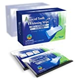 28 Professional High Grade Advanced Teeth Whitening Strips. Revolutionary 30 Minute Home Tooth Whitening Treatment. EU & UK Approved (Non Peroxide) Safer than the best Teeth/Tooth Bleaching, Whitening Kits, Pens & Other Bleach Whitening Systems
