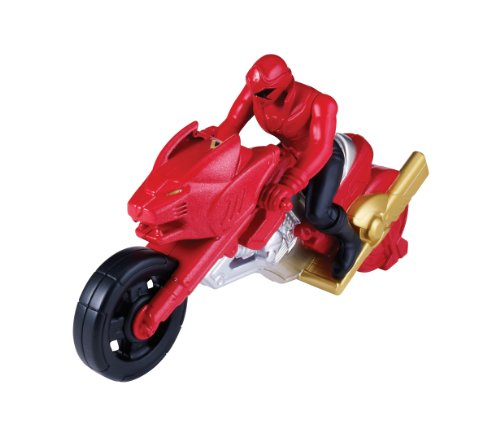 Power Rangers Super Megaforce Lost Galaxy Cycle and Red Ranger - 1