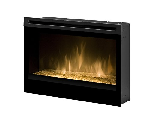 Dimplex DFG3033 33-Inch Self-Trimming Electric Firebox with Glass Ember Bed photo