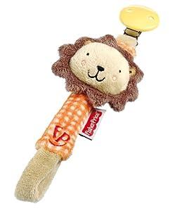Happy People 40816 Fisher-Price - Colgante para chupete con león (23 cm) en BebeHogar.com
