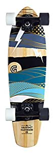 Goldcoast Salvo Complete Cruiser Skateboard - Brown, One Size