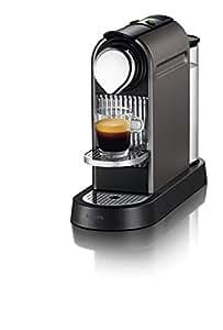 Nespresso CitiZ XN720T40 Coffee Machine by Krups - Titanium