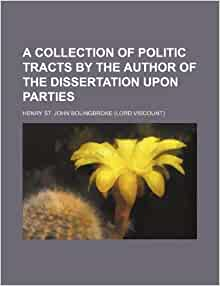 bolingbroke dissertation upon parties