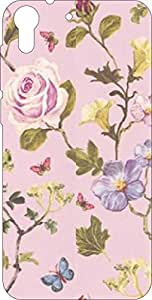 Go Hooked Designer Soft Back cover for HTC Desire 620 + Free Mobile Stand (Assorted Design)