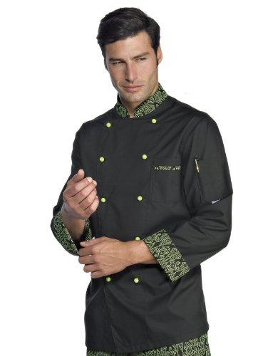 isacco-chaqueta-chef-cocinero-extralight-negro-verde-negro-xxl