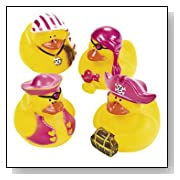 Girl Pirate Rubber Duck