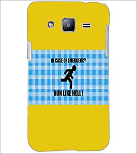 PrintDhaba Quote D-5704 Back Case Cover for SAMSUNG GALAXY J2 (Multi-Coloured)
