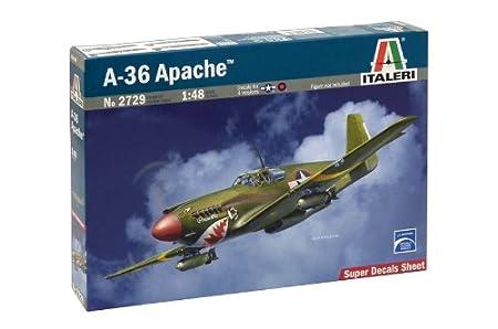 Italeri - I2729 - A-36 Apache