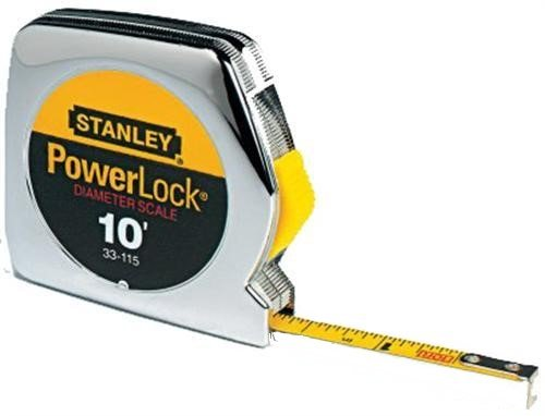 "Stanley Tape Rule With Diameter Scale 1/4 "" X 10 '"