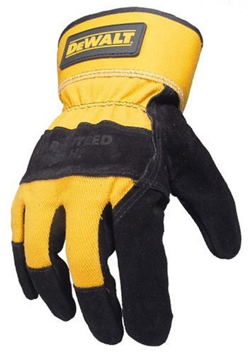 Dewalt Gloves Review DPG41L Premium Cowhide Leather with Reinforced Palm